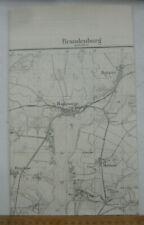 Brandenburg an der Havel 1:25.000  Butzow Gollwitz Lünow Meßtischblatt 1903 3541