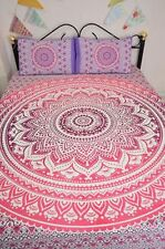 Indian Ombre Mandala Duvet Doona Cover Reversible Bedding Set Blanket Boho Throw