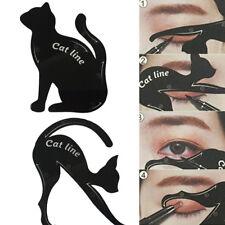Charming New Cat Line Eye Makeup Tool Eyeliner Stencils Template Shaper Model