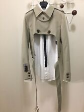 GRAIL Dior Homme by Hedi Slimane S/S 07 Cropped Trenchcoat Size 44 ULTRA RARE