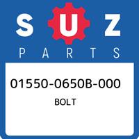 01550-0650B-000 Suzuki Bolt 015500650B000, New Genuine OEM Part