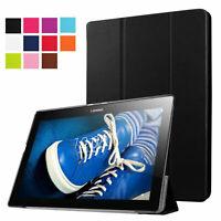 Hülle für Lenovo Tab 2 A10-30 A10-30L A10-30F Tasche Book Cover Schwarz Etui Set