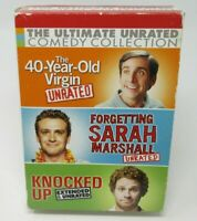 40-YEAR OLD VIRGIN /KNOCKED UP /SARAH MARSHALL - ULTIMATE UNRATED 3-DISC DVD SET