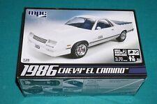 1986 Chevy El Camino MPC 1/25 Factory Sealed.