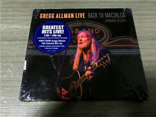 Gregg Allman ‎– Live: Back To Macon, GA 1661-37459-00 US 2CD SEALED