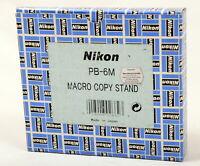 Nikon PB-6M Macro Copy Stand - New