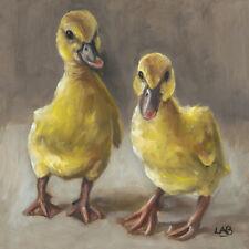 Louise Brown - So Cute - Ready Framed Canvas 40x40cm