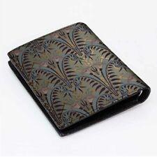 DISNEY PARKHAUNTED MANSION Men's Wallet Black Leather Custom Money & Card Holder