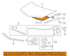 Acura HONDA OEM 07-13 MDX Hood-Insulation Pad Liner Heat Shield 74141STXA00