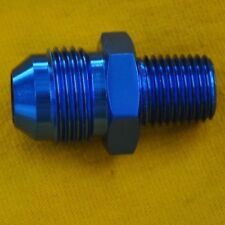 Straight Adapter 8 AN to 3/8 NPT Fitting