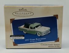 Hallmark Keepsake 2002 Ford Ranchero 1957 Collector's Series #8 American Trucks