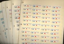 BRITISH COLONIES, 100s of of mostly MINT  Stamps in stock pages