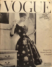 VINTAGE anni'50 VOGUE Couturier PATERSON Sewing Pattern Cocktail Da Sera Matrimonio