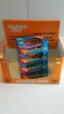 TURBO MOTO voiture MERCEDES, PORSCHE ….4 modèles rare (CLIPPER) avec présentoir