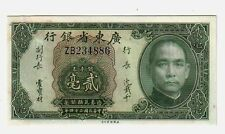 Cina  China KwangTung 20 cents 1935   qFDS aUNC  pick S2437  lotto  2053