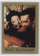 1993 Eclipse James Bond 007 Series 1 #9 Deadly Relationship Non-Sports Card 0b6