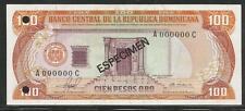 Dominican Republic 100 Pesos Oro 1981 Specimen Unc