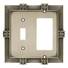 64466 Satin Pewter Pineapple Switch/Gfci Outlet Wall Cover
