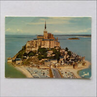 The Mont Saint Michel and the Tombelaine Rock Postcard (P388)