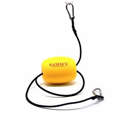 Kayak Drift Anchor Tow Line Nylon Rope with EVA Buoy Stainless Clips Accessory