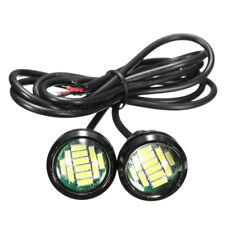 12V 6W Waterproof LED Car DRL Super Bright Auto Daytime Running Light Lamp Bulbs
