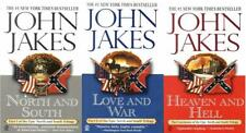 John Jakes NORTH AND SOUTH TRILOGY Military Fiction Series Paperback Books 1-3