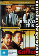 Analyze This / Grilled DVD NEW, FREE POSTAGE WITHIN AUSTRALIA REGION 4