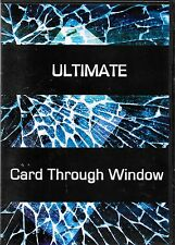ULTIMATE CARD THROUGH WINDOW DVD ERIC JAMES PERFORM ANYPLACE MAGIC TRICK