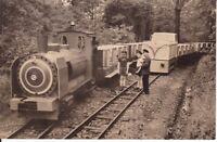 uralte AK, Karl-Marx-Stadt Pionier-Eisenbahn im Küchwald-Park 1975 Chemnitz