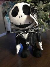 "NIGHTMARE BEFORE CHRISTMAS Animated 12"" Jack Skellington Dancing Singing 25"
