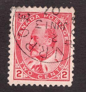 Sc90 - 1903 - RPO W30 - £ sterling ornament #133 - RF 240 - Used - superfleas