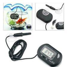 Lcd Digital Fish Tank Reptile Aquarium Water Meter Temperature Best Thermom F5B6