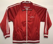 Budweiser Zip Up Sweater Coat Track Warm Up Jacket King Of Beers Extra Large