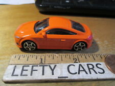 AUDI TT Orange HardTop CAR SCALE 1/64 - LOOSE! NO BOX!