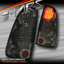 Smoked Black LED TAIL LIGHTS TAILLIGHT FOR HOLDEN RODEO ISUZU D-MAX 07-11