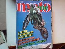 moto verte n68 dec 79 essai montesa349 50ersuzuki ossa 350trial