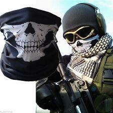 Vogue Applied Bicycle Ski Skull Half Face Mask Ghost Scarf Multi Neck Warmer XG