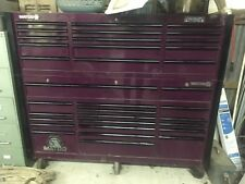 Matco Tools Tool Box MB7535 And MB7530 Triple Bay Rollaway