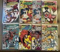 Amazing SpiderMan #361 1st prt 344,345, 359,360,362 & 362 2nd,363 1st Carnage