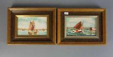 MINDERMANN, HEINZ zugeschrieben (Bremen 1872-1959 Norderney), Paar Gemälde