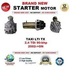 FOR TAXI LTI TX 2.4 TDi 90-bhp 2002-ON STARTER MOTOR 2.1 kW 19Teeth BRAND NEW