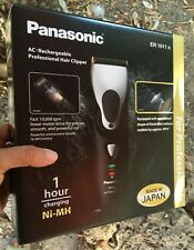 Panasonic ER1611k Professional Hair Trimmer Clipper ER-1611 - 100% ORIGINAL
