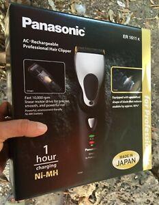Panasonic ER1611k Professional Hair Trimmer Clipper ER-1611 - 100% ORIGINAL