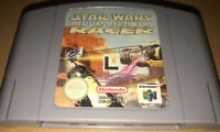 NINTENDO 64 - Star Wars EP 1 RACER  - TESTED & WORKING - Missing Case