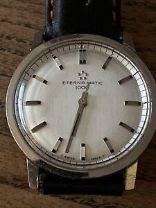 Vintage Eterna Matic 1000 Gents Watch