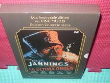 LA ULTIMA ORDEN - MUDO - STERNBERG - DVD + LIBRO