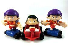 Bobby's World Happy Meal Toy Lot McDonalds 1994 Wagon Skates Cake Topper 90s