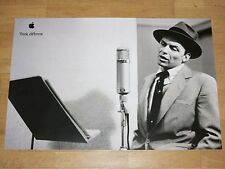 APPLE THINK DIFFERENT POSTER - FRANK SINATRA / 24 x 36 by STEVE JOBS 61 x 91 CM