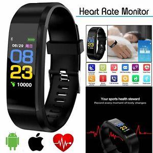 Smart Watch Bracelet Health Monitor Wristband Fitness Heart Rate Temp BP Pulse