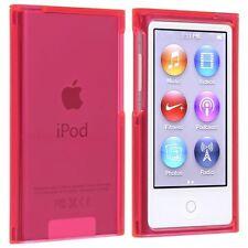 Coque rigide étui housse de protection rose cristal pour ipod nano 7G 7 G + Film